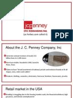 jc penny - strategia de rebranding 2014