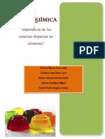 Importancia de Los Sistemas Dispersos en Alimentos 2