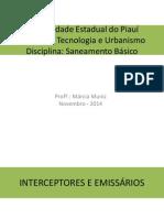 Interceptor - Saneamento