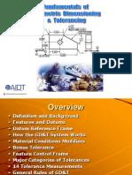 Fundamentals of GD&T