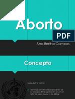 presentacion de aborto