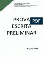 MPRJ (preliminar 2014)