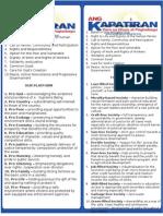 Ang Kapatiran- 10 Founding Principles