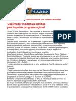com1010 251206 Gobernador Eugenio Hernández Flores moderniza caminos para impulsar progreso regional