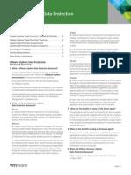 VMware VSphere Data Protection Product FAQ