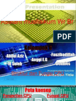 Slide Presentation Struktur CPU