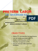 preterm labor.ppt