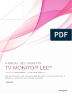 manual led  tv 19MT43D spanish