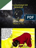 Szövetségkötés Ábrahámmal A