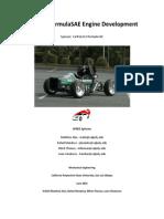 Ca Poly FormulaSAE Engine Development