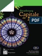 Programme Noel Strasbourg 2014 Fr