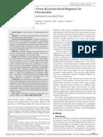 Fluoroquinolones Versus -Lactam Based Regimens for the Treatment of Osteomyelitis