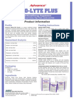 Pro-Lyte Plus Product Info