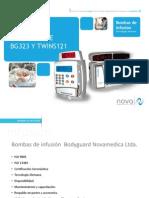 Presentacion Bombas de Infusión BG 323TWINS 121