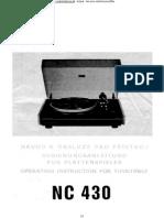Tsl Nc430sns