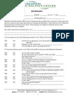 ENG VRT Questionnaire