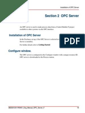 OPC Server Setup | Gateway (Telecommunications) | Data Type