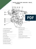 Elementos de Un Motor Inyección Gasolina Ingles
