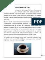 preparación del cafe