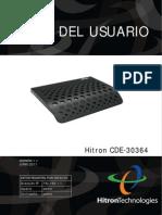 Hitron CDE 30364 Guia Del Usuario Router