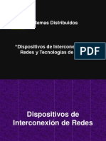 Clase 04 SD Disp Intercon y Tec Red