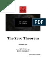 The Zero Theorem Production Notes