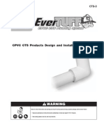 CPVC CTS Products Design and Installation Manual