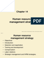Human Resources Management Strategy