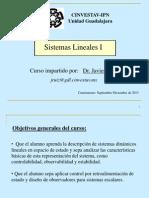 Sistemas Lineales I