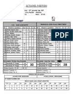 10º partido de liga ABF  Mar Alicante Elda  09 01 10