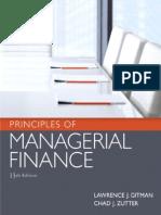 Managerial Finance Gitman Pdf