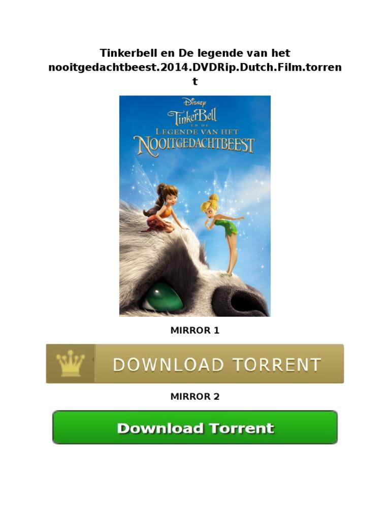 tinkerbell en de legende van het nooitgedachtbeest2014