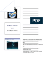 Edit Web Module Lecture Slides - Air Masses and Fronts