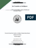 Senate select committee on Intelligence - Torture - US