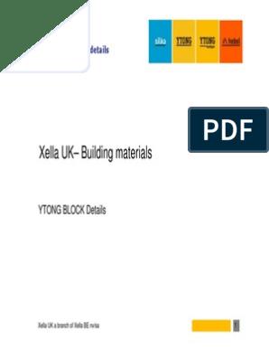 Ytong Data Sheet