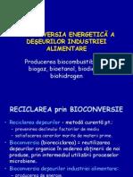 Bioconversia Energetica a Deseurilor Industriei Alimentare Producerea Biocombustibililor - Biogaz, Bioetanol, Biodiesel, Biohidrogen