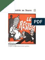 Jossot, Il Rispetto, [Le Respect], 12 Gennaio 1907