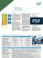 2nd Gen Core Desktops Brief