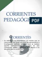 Corrientes Pedagógicas Primera Parte