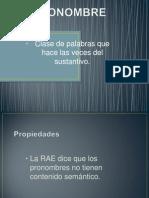 El Pronombre Exp.
