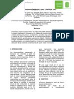 Informe - Bioetanol