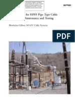 Fabricante de HPFF cable