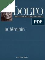 Feminité Dolto Extrait