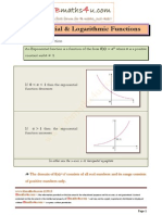 Exponential and Logarithmic Function