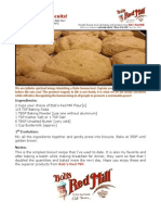Bob Levin's Recipe for Wicked Good Biscuits!