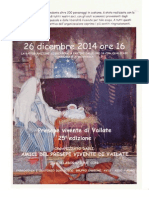 Presepe vivente di Vailate (CR) 25° edizione - 26 dicembre 2014 ore 16