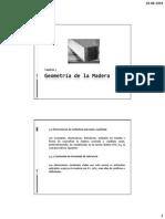 Cap 3, Geometría de la Madera