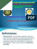 Metabolism y Nutrición