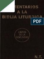GONZALEZ, A. (y Otros) – Comentarios a La Biblia Liturgica. Nuevo Testamento. – Ediciones Paulinas (y Otras), 4 Ed, Barcelona, 1990
