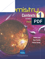 Chemistry Contexts Preliminary